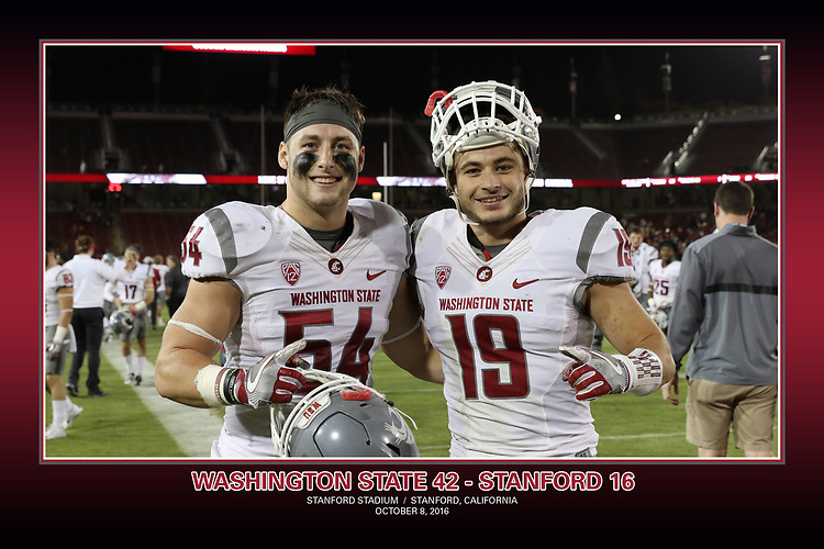 Fan shots from the Cougars Pac-12 Conference road victory over the Stanford Cardinal, 42-16, on October 8, 2016, at Stanford Stadium in Stanford, California.