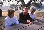 Judy Balthis, Dr. William Beach, Mona Beach
