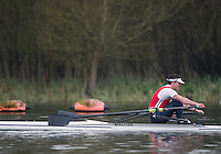 Caversham. Berkshire. UK<br /> Jake BROWN.<br /> 2016 GBRowing U23 Trials at the GBRowing Training base near Reading, Berkshire.<br /> <br /> Monday  11/04/2016 <br /> <br /> [Mandatory Credit; Peter SPURRIER/Intersport-images]