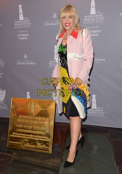 28 February 2014 - Los Angeles, California - Catherine Martin. Arrivals for the Rodeo Drive Walk of Style honoring Catherine Martin at Greystone Mansion in Los Angeles, Ca.<br /> CAP/ADM/BT<br /> &copy;Birdie Thompson/AdMedia/Capital Pictures