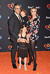 LOS ANGELES, CA - NOVEMBER 08: Actor Jaime Camil and family arrive at the premiere of Disney Pixar's 'Coco' at El Capitan Theatre on November 8, 2017 in Los Angeles, California.