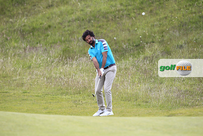 Alejandro Larrazabal (ESP) on the 4th fairway during Round 1 of the The Amateur Championship 2019 at The Island Golf Club, Co. Dublin on Monday 17th June 2019.<br /> Picture:  Thos Caffrey / Golffile<br /> <br /> All photo usage must carry mandatory copyright credit (© Golffile | Thos Caffrey)