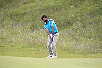 Alejandro Larrazabal (ESP) on the 4th fairway during Round 1 of the The Amateur Championship 2019 at The Island Golf Club, Co. Dublin on Monday 17th June 2019.<br />