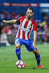 Atletico de Madrid's Juanfran Torres during the match of La Liga Santander between Atletico de Madrid and Deportivo Alaves at Vicente Calderon Stadium. August 21, 2016. (ALTERPHOTOS/Rodrigo Jimenez)