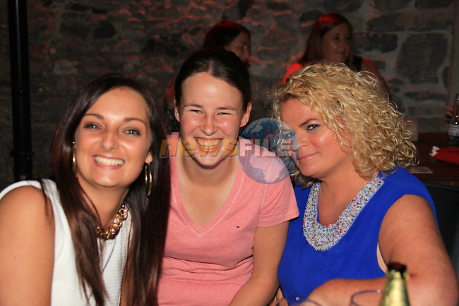 Meagan service<br /> Jessica Cunningham<br /> Lucy pentony<br /> in cairns<br /> Picture:  Fran Caffrey / www.newsfile.ie