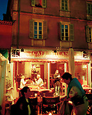 FRANCE, people dining at Cafe Milano, Saint Tropez