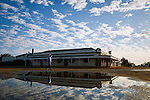 The historic Birdsville Hotel - an outback pub dating back to 1884 in Birdsville, Queensland, Australia
