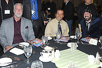 LAS VEGAS, NV - MAY 02: Kevin Nash, Shawn Michaels and Sean Waltman at the 2018 Cauliflower Alley Club Awards Banquet And Dinner at the Gold Coast Hotel & Casino in Las Vegas, Nevada on May 2, 2018. Credit: George Napolitano/MediaPunch