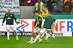 06.10.2019, Commerzbankarena, Frankfurt, GER, 1. FBL, Eintracht Frankfurt vs. SV Werder Bremen, <br /> <br /> DFL REGULATIONS PROHIBIT ANY USE OF PHOTOGRAPHS AS IMAGE SEQUENCES AND/OR QUASI-VIDEO.<br /> <br /> im Bild: Milos Veljkovic (SV Werder Bremen #13) beim aufwaermen<br /> <br /> Foto © nordphoto / Fabisch