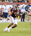 Temple Owls Sean Daniels (55) in action during a game against the Villanova Wildcats on August 31, 2012 at Lincoln Financial Field in Philadelphia, PA. Temple beat Villanova 41-10.