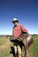 Australian sheep farmer in the Outback..MR