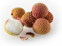 lychee fruit stock photos
