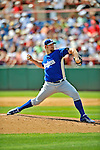 15 March 2008: Los Angeles Dodgers' pitcher Brad Penny on the mound during a Spring Training game against the Washington Nationals at Space Coast Stadium, in Viera, Florida...Mandatory Photo Credit: Ed Wolfstein Photo