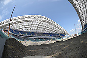 13.07.2015. Sochi, Russia. Interior view the Fisht stadium, former Olympic stadium, and future stadium for the FIFA soccer world cup in the Olympic park in Sochi, Russia, 13 July 2015. In 2018 the matches of the soccer world cup will take place in the stadium.