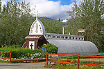 Our Lady of the Way Catholic Church at Haines Junction, Yukon, Canada