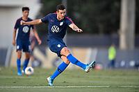 Miami, FL - Tuesday, October 15, 2019:  Aaron Herrera #2 during a friendly match between the USMNT U-23 and El Salvador at FIU Soccer Stadium.