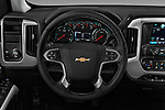 Car pictures of steering wheel view of a 2017 Chevrolet Silverado-1500 LT-Crew 4 Door Pick-up Steering Wheel