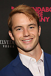 Will Brittain during the Off-Broadway Opening Night photo call for the Roundabout Theatre Production of 'Skintight at the Laura Pels Theatre on June 21, 2018 in New York City.