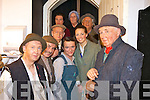 The cast os Sive preparing to go on stage in St. John's theatre Listowel on Friday night. Pictured are Chris Fitzgerald, John Looney, Batt O'Keeffe, Jimmy Griffin, Gearo?id O'Connor, Oliver McGrath, Maria Dillon, Majella Keenan and Gerite.O'Keeffe.