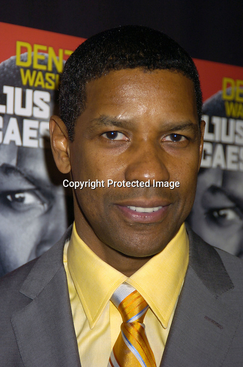 Denzel Washington ..at the Broadway Opening of Julius Caesar on April 3, 2005 at the Belasco Theatre and at Gotham Hall at the party. ..Photo by Robin Platzer, Twin Images