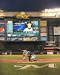 Masahiro Tanaka (Yankees),<br /> MAY 9, 2014 - MLB :<br /> Masahiro Tanaka of the New York Yankees bats in the fourth inning during the Major League Baseball game against the Milwaukee Brewers at Miller Park in Milwaukee, Wisconsin, United States. (Photo by AFLO)