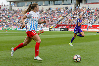Bridgeview, IL - Saturday July 22, 2017: Sofia Huerta during a regular season National Women's Soccer League (NWSL) match between the Chicago Red Stars and the Orlando Pride at Toyota Park. The Red Stars won 2-1.