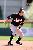 May 9, 2009:  Designated Hitter Matt Wieters of the Norfolk Tides, International League Class-AAA affiliate of the Baltimore Orioles, runs the bases during a game at Coca-Cola Field in Buffalo, FL.  Photo by:  Mike Janes/Four Seam Images