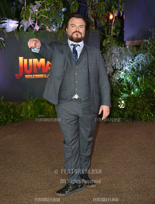 Jack Black at the Los Angeles premiere of &quot;Jumanji: Welcome To the Jungle&quot; at the TCL Chinese Theatre, Hollywood, USA 11 Dec. 2017<br /> Picture: Paul Smith/Featureflash/SilverHub 0208 004 5359 sales@silverhubmedia.com