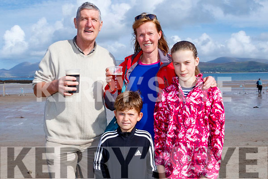 Horse Box<br /> --------------<br /> John Hoare from Tralee with his family Nikita, Bettina and Natalie enjoying a great day out at the races.