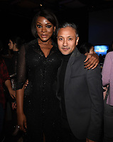 "SANTA MONICA - JANUARY 10: Caroline Chikezie and Alain Uy attend the red carpet premiere party for FOX's ""The Passage"" at The Broad Stage on January 10, 2019, in Santa Monica, California. (Photo by Frank Micelotta/Fox/PictureGroup)"