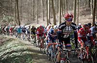 Koen de Kort (NLD/Giant-Alpecin) up the La Houppe climb<br /> <br /> E3 - Harelbeke 2016