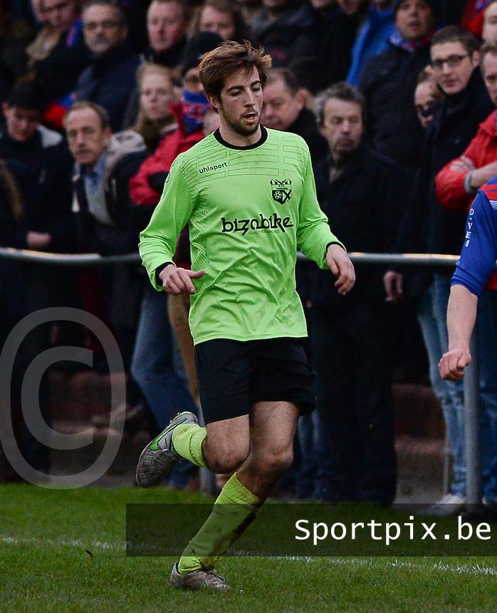 FC Moerkerke  : Mike Waeghe<br /> Foto VDB / Bart Vandenbroucke