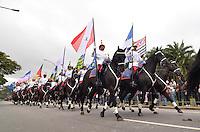 SAO PAULO, SP, 09.07.2013 - DESFILE 9 DE JULHO - Desfile em comemoração à Revolução Constitucionalista de 1932, neste 9 de Julho, em São Paulo. FOTO: LEVI BIANCO - BRAZIL PHOTO PRESS