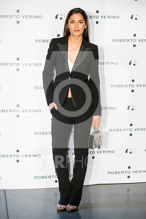 "Michelle Calvo during the presentation of the new Spring-Summer collection ""Un Balcon al Mar"" of Roberto Verino at Platea in Madrid. March 16, 2016. (ALTERPHOTOS/Borja B.Hojas)"
