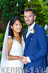 Lisa Marie Fernandes, London daughter of Tony and Aurea, and Cian Griffin, Glenbeigh son of Kevin and Patricia, who were married in st James church Glenbeigh on Friday Fr Kevin O'Sullivan officiated at the ceremony assisted by Fr Paul Walsh, best man was Fergal Griffin groomsmen were Padraig and Cathal Griffin, Caoilte Purcell and Micheal Griffin, bridesmaids were were Vaesna Rodgers, Sabrina Moulliec, Carolyn Ansted, Zoe Fernandes and Mandeep Ghatory, pageboys were Fionn Zanini, Irla O'Donovan, Senan O'Donovan and Ross Griffin, flower girls were Aoibhin and Seodhla O'Donovan and Josie de Souza, the reception was held in the Malton Hotel, the couple will reside in London