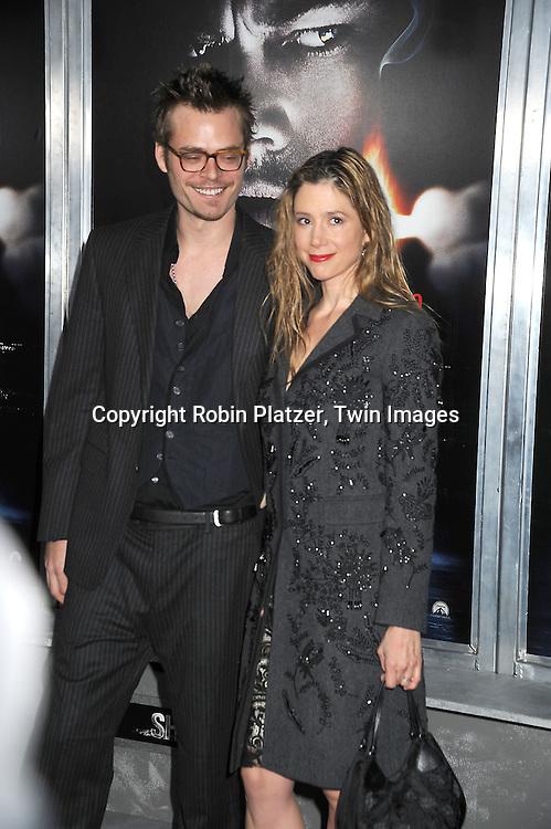 Mira Sorvino and husband Christopher Backus