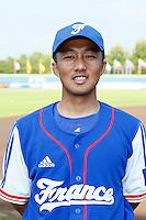 08 September 2012: Daisuke Ikenaga poses at the 2012 European Championship, in Rotterdam, Netherlands.