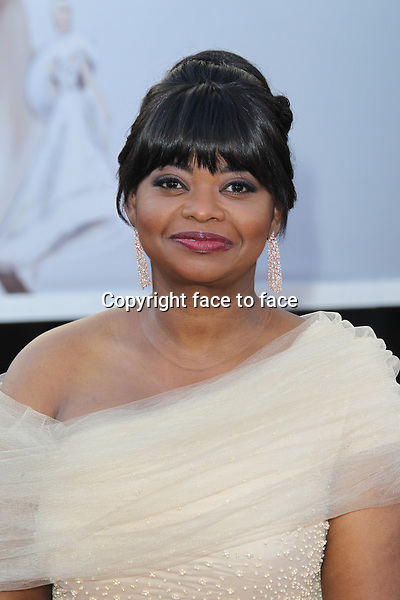 Octavia Spencer arriving to the 85th Academy Awards at the Hollywood and Highland Center in Hollywood, California. February 24, 2013. ..Credit: MediaPunch/face to face..- Germany, Austria, Switzerland, Eastern Europe, Australia, UK, USA, Taiwan, Singapore, China, Malaysia and Thailand rights only -
