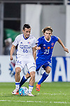 Suwon Midfielder Damir Sovsic (L) in action against Eastern SC Forward Jaimes Mckee (R) during the AFC Champions League 2017 Group G match between Eastern SC (HKG) vs Suwon Samsung Bluewings (KOR) at the Mongkok Stadium on 14 March 2017 in Hong Kong, China. Photo by Yu Chun Christopher Wong / Power Sport Images
