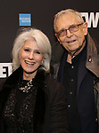 """Jamie deRoy and Richard Maltby Jr. attends the Broadway Opening Night Performance  for """"Network"""" at the Belasco Theatre on December 6, 2018 in New York City."""