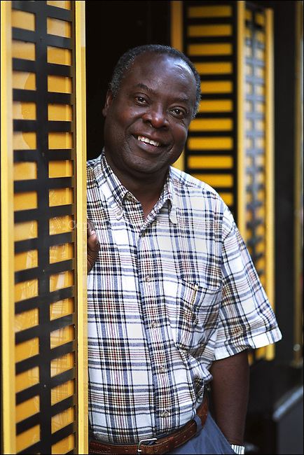 Emmanuel Dongala, Congolese writer.