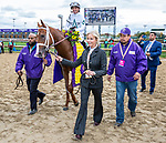 November 2, 2018: Bulletin #5, ridden by Javier Castellano, wins the Juvenile Turf Sprint on Breeders' Cup World Championship Friday at Churchill Downs on November 2, 2018 in Louisville, Kentucky. Bill Denver/Eclipse Sportswire/CSM