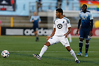Minneapolis, MN - Saturday, June 24, 2017: Minnesota United FC played Vancouver Whitecaps FC in a Major League Soccer (MLS) game at TCF Bank stadium. Final score Minnesota United 2, Vancouver Whitecaps 2