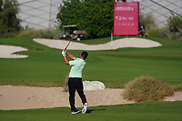 Andy Sullivan (ENG) on the 17th during Round 1 of the Commercial Bank Qatar Masters 2020 at the Education City Golf Club, Doha, Qatar . 05/03/2020<br /> Picture: Golffile | Thos Caffrey<br /> <br /> <br /> All photo usage must carry mandatory copyright credit (© Golffile | Thos Caffrey)