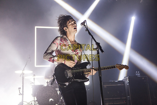 ROYAL OAK, MI - MAY 4: The 1975 perform at the Royal Oak Music Theatre on May 4, 2014 in Royal Oak, Michigan.  <br /> CAP/MPI/JG<br /> &copy;Joe Gall/MediaPunch/Capital Pictures