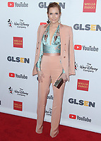 BEVERLY HILLS - OCTOBER 21:  Darby Stanchfield at the 2017 GLSEN Respect Awards at Beverly Wilshire Four Seasons Hotel at The Grove on October 20, 2017 in Beverly Hills, California. (Photo by Scott Kirkland/PictureGroup)