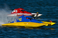 "Scott Melowic, Y-40, Kathleen Maurer, Y-16 ""Liquid Fun Racing""                (1 Litre MOD hydroplane(s)"