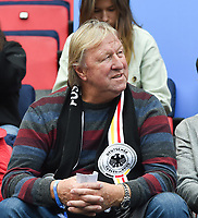 20190612 - VALENCIENNES , FRANCE : German Horst Hrubesch  pictured during the female soccer game between Germany  and Spain  , the second game for both teams in group B during the FIFA Women's  World Championship in France 2019, Wednesday 12 th June 2019 at the Stade du Hainaut Stadium in Valenciennes , France .  PHOTO SPORTPIX.BE | DIRK VUYLSTEKE