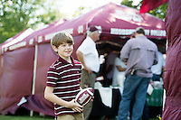 Football Game Day: MSU vs LSU -- tailgating Rosie's Rowdies<br />  (photo by Megan Bean / &copy; Mississippi State University)