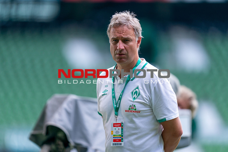 Marco Bode (Aufsichtsratsvorsitzender SV Werder Bremen)<br /> <br /> <br /> Sport: nphgm001: Fussball: 1. Bundesliga: Saison 19/20: 34. Spieltag: SV Werder Bremen vs 1.FC Koeln  27.06.2020<br /> <br /> Foto: gumzmedia/nordphoto/POOL <br /> <br /> DFL regulations prohibit any use of photographs as image sequences and/or quasi-video.<br /> EDITORIAL USE ONLY<br /> National and international News-Agencies OUT.